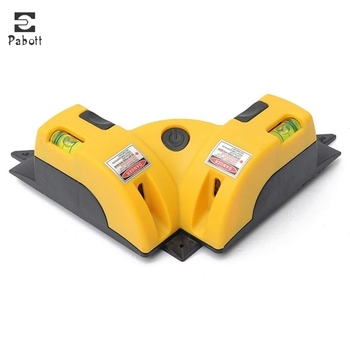 High Precision Right Angle 90 Degree Square Laser Level Line Projection Nivel Measurement Instruments