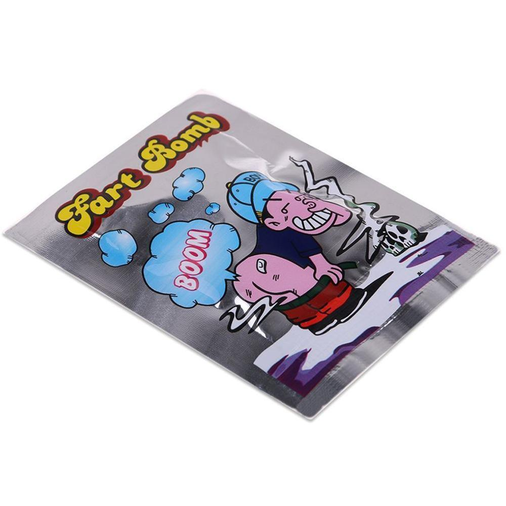 Funny Fart Bomb Bags Novelty Fart Bomb Bags Safety And Non-Toxic Jokes Smelly Package Tricky Toys