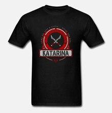 Camiseta masculina katarina edição limitada por danilifestyle camiseta feminina