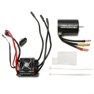 Image 5 - WLtoys 12428 Upgrade parts 4300KV brushless motor 60A ESC servo power set components Third channel switch Metal differential