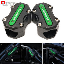 Bloco de Motor da motocicleta Guarda Bumper Proteção Decorativa X300 Crash Bar Para Kawasaki Versys 650 1000 2008 - 2019 2020 2021