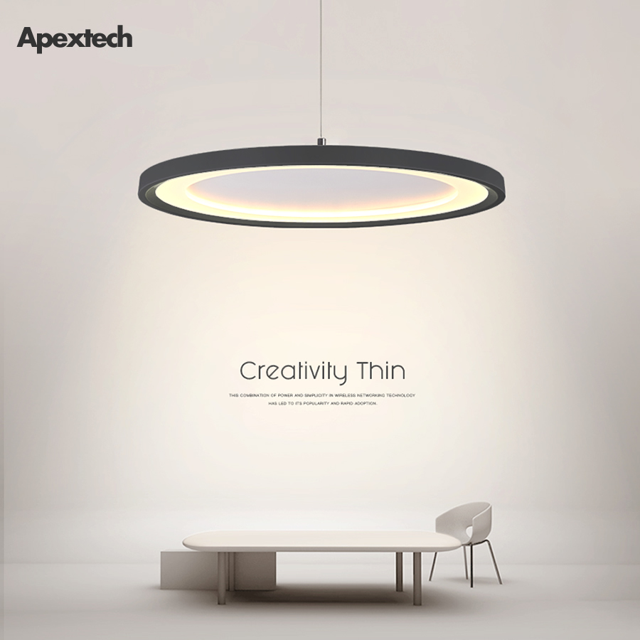 Ultra Thin Ufo Led Chandelier Modern Nordic Creative Flying Saucer Pendant Lamp Dining Room Table Ceiling Hanging Lights Chandeliers Aliexpress
