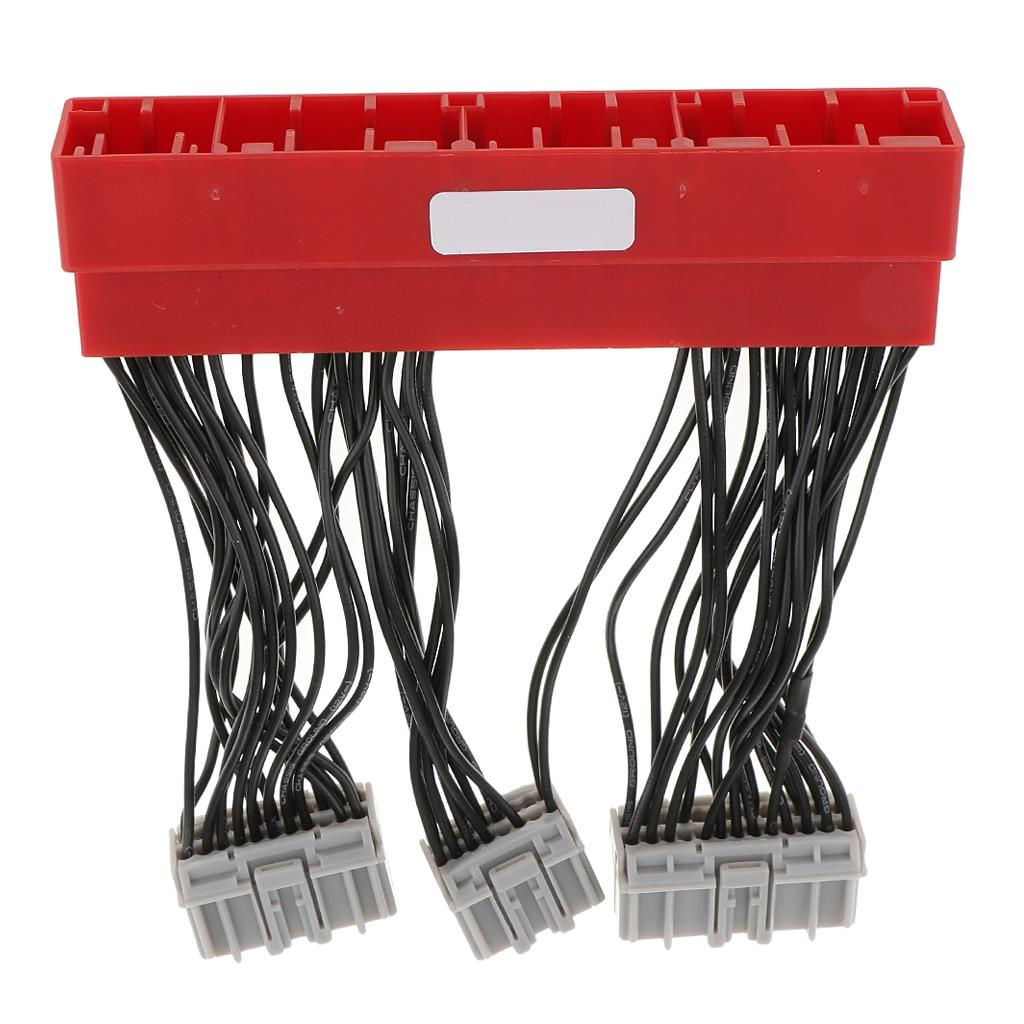 OBD2A Zu OBD1 ECU Motor Computer Conversion Adapter Converter Kabelbaum Für Civic Accord