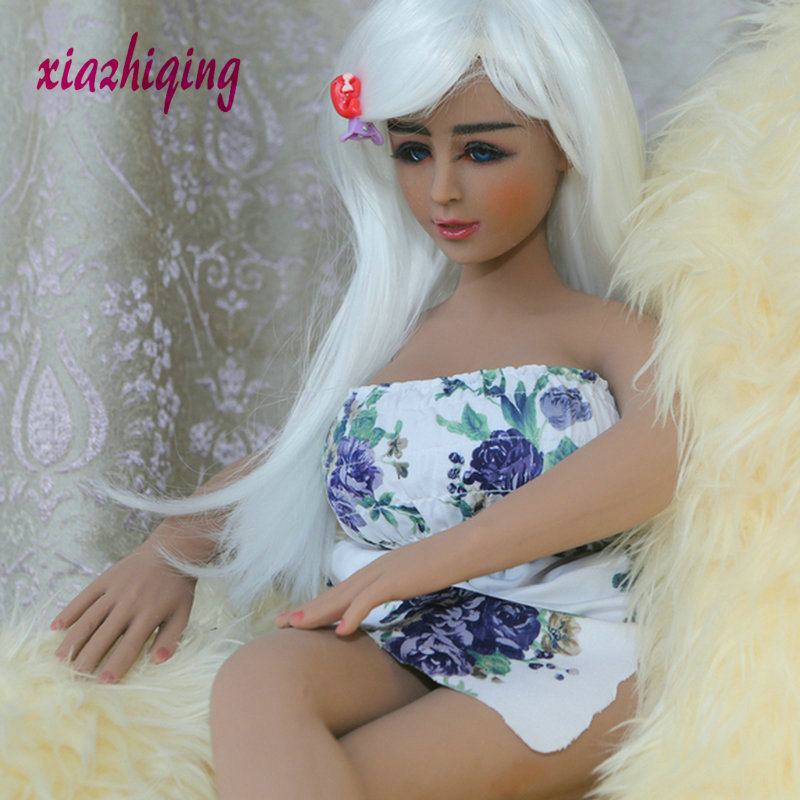 <font><b>65cm</b></font> 69CM Mini Realistic Full Size robet <font><b>Sex</b></font> <font><b>Doll</b></font> With <font><b>Skeleton</b></font> Artificial Vagina Large Breast Love <font><b>Doll</b></font> Sensuality Toys image