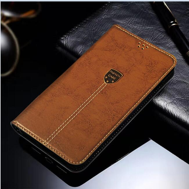Leather Case For General Mobile GM5 Flip Case Card Wallet Cover Magnet Business Phone Case For General Mobile GM 5 GM5 Coque image