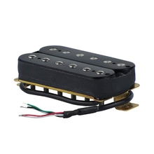 Electric Guitar Humbucker Alnico V Pickup Black цены онлайн
