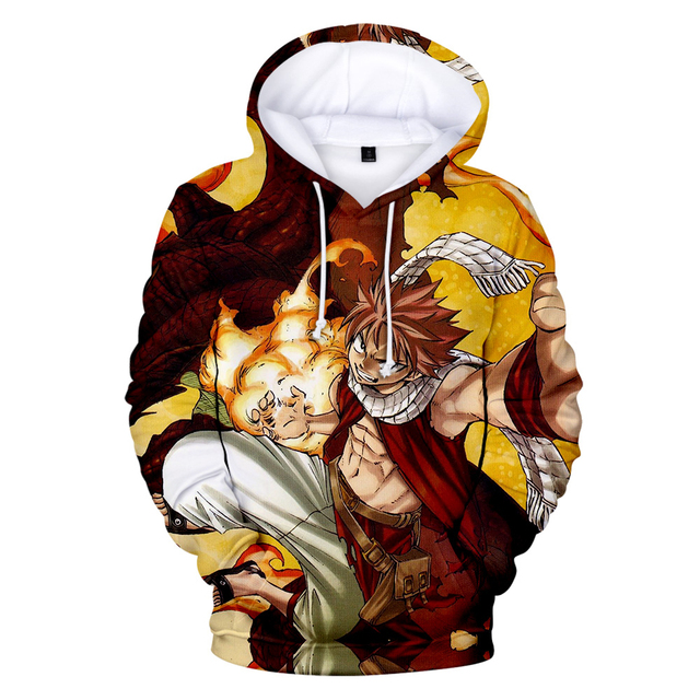 FAIRY TAIL THEMED 3D HOODIE (25 VARIAN)