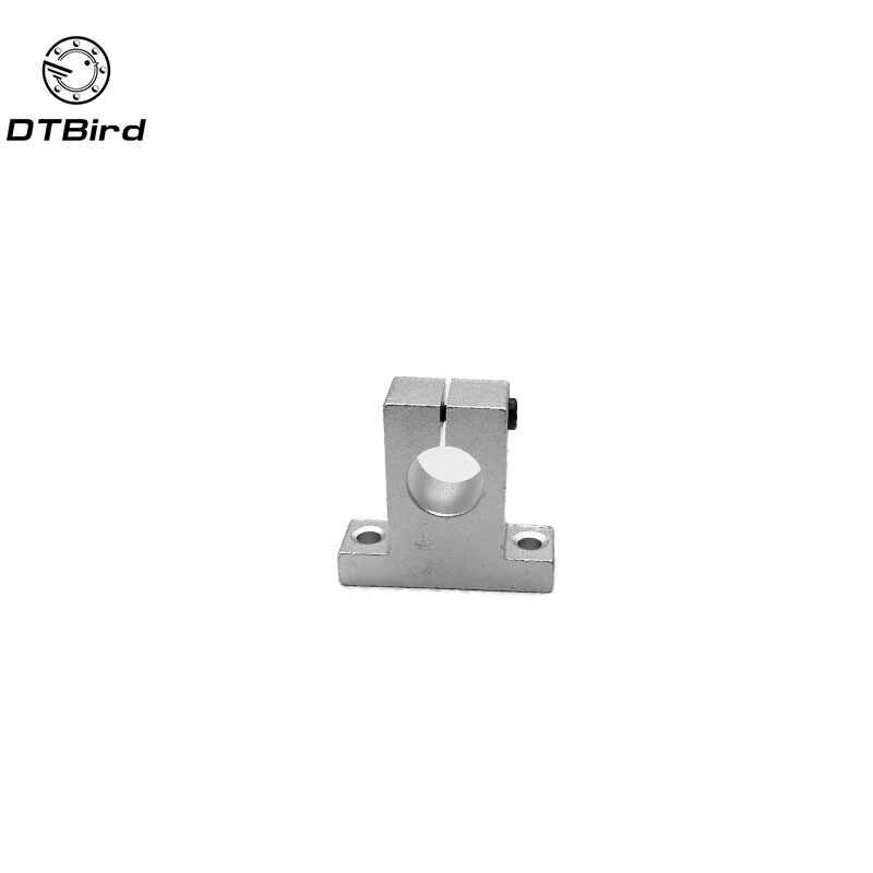 ホット 1pc SK8 SK10 SK12 SK16 SK20 SK25 8 ミリメートルリニアボールベアリングレールシャフトサイドブロック支持台 cnc 3D プリンタ部