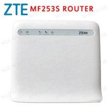 Zte mf253s 4g lte cpe roteador sem fio desbloqueado, com antena 4g cpe roteador com slot para cartão sim