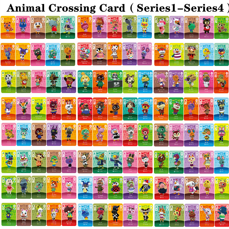 Animal Crossing Card Series1 To Series 4 (001 To 400) Amiibo Game Locks Nfc Card Work For NS Games Series English Version