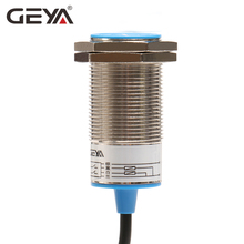 цена на GEYA Proximity Sensor 10mm Sensing Distance Proximity Switch NPN PNP DC 10-30V M30 Screw Size