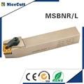 Бесплатная доставка MSBNR2020K12 MSBNL2020K12 Nicecutt держатель внешнего токарного инструмента для SNMG вставки токарного станка держатель инструмента Бе...