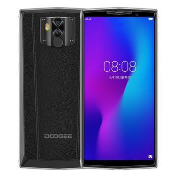 Перейти на Алиэкспресс и купить DOOGEE N100 мобильный телефон Android 9,0 MTK6763 Helio P23 Восьмиядерный 4 Гб ОЗУ 64 Гб ПЗУ 5,99 дюймFHD + дисплей Лицо ID 10000 мАч батарея 4G