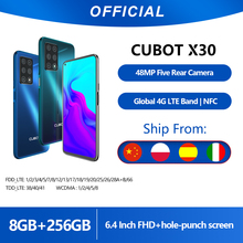 Cubot Helio P60 Smartphone 48MP Five-Camera 256GB 8GB LTE/GSM/WCDMA NFC Mcharge Octa Core