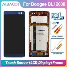 Novo original 6.0 polegada tela sensível ao toque + 2160x1080 display lcd moldura assembléia substituição para doogee bl12000/bl12000 pro android 7.0