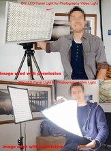 DIY LED U HOMEสูงCRI Ra 97 + ไฟLED Strip SMD5630สีขาว5500K 6000Kสำหรับกล้องฟิล์มภาพยนตร์DIY LED Light Panel