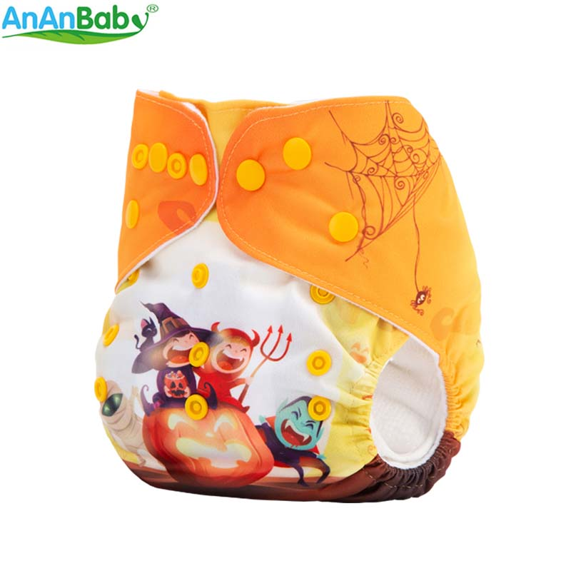 Hot Sale New Position Prints Cloth Diapers Reusable Washable Holiday Position Cloth Nappies DY Series