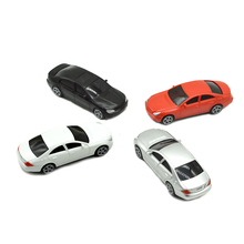 10pcs 1:50 Scale Model Color Cars Toys Architecture Sand Table DIY For Diorama Miniature Buidings Scenery Making Kits