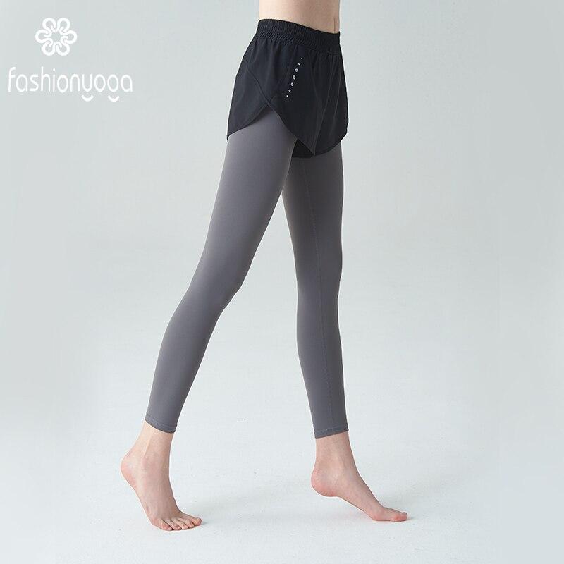 Pantaloni di Yoga Sport Pantaloni Pieni Della Ragazza Delle Donne di Fitness Unico Leggings Allenamento Corsa e Jogging Leggings Sexy Push Up Usura di Ginnastica Elastico Sottile