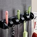 Кухонная настенная стойка для швабры держатель для метлы Вешалка Органайзер инструмент для хранения для дома K888
