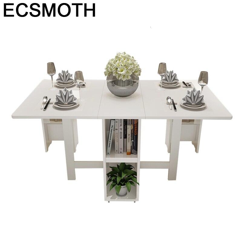 Yemek Masasi Esstisch Piknik Masa Sandalye Eettafel A Langer Retro Wood Folding Desk Bureau De Jantar Mesa Comedor Dining Table