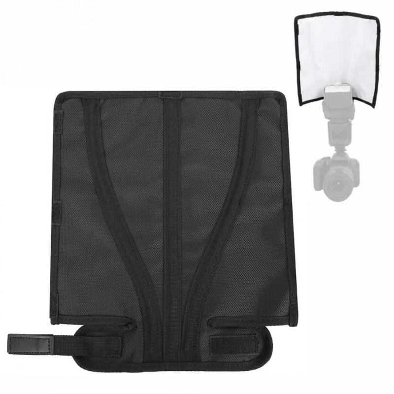 Foldable Diffuser Photo Light Flash Reflector Photography Speedlight Softbox For Nikon METZ Olympus Sony Cameras Difusor Flash