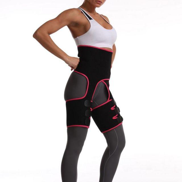 Sweaty Waist Support Belt Widening Yoga Fat Burning Belly Belt Running Leggings Stuffy Sweat Heat Shaping Belt
