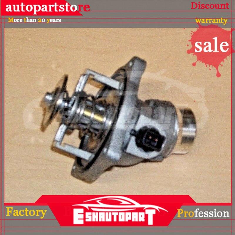 Thermostat de liquide de refroidissement moteur avec boîtier et capteur pour BMW E38 E39 Range Rover 540I 740I 740IL X5 11531436386