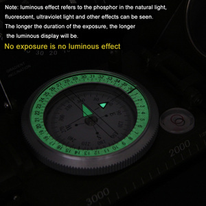Image 5 - קמפינג טיולי מים הישרדות צבאי מצפן קמפינג טיולי מצפן גיאולוגי מצפן דיגיטלי מצפן קמפינג ניווט