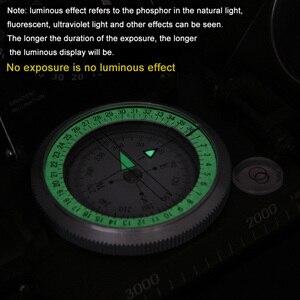 Image 5 - แคมป์เดินป่าน้ำ Survival เข็มทิศทหารเดินป่าเข็มทิศธรณีวิทยาเข็มทิศดิจิตอลเข็มทิศนำทาง