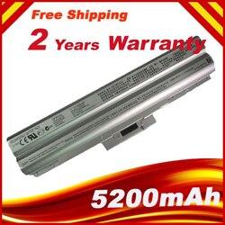 HSW Серебряный 5200 мАч 6-элементный Аккумулятор для ноутбука SONY VAIO VGP-BPS13/S VGP-BPS13A/S VGP-BPS21/S VGP-BPL21A/S VGP-BPS13A/бесплатная доставка