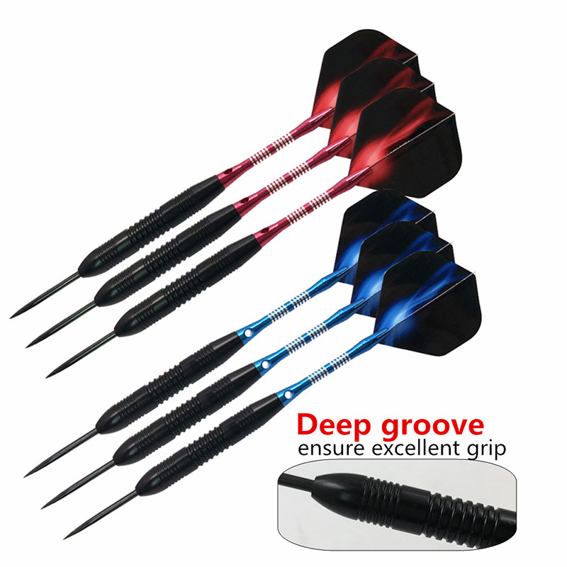 Soft Tip Darts Portable Durable Red Dart Case,Dart Box For Darts In Steel