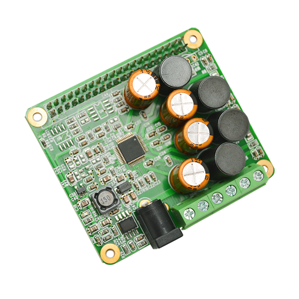 Raspberry Pi HIFI AMP Expansion Board Audio Module 25W Class-D Power Sound Card Expansion Board For Raspberry Pi 4 3 B+ Pi Zero