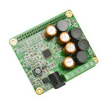 Placa de expansão raspberry pi, módulo de áudio da placa de expansão 25w classe d pi 4 3 b + pi zero