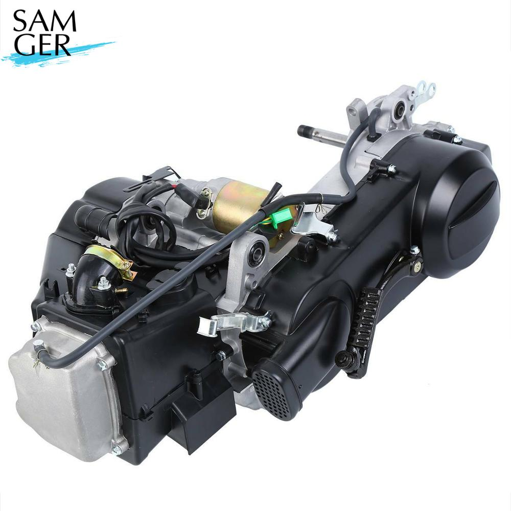 Samger 4 Stroke GY6 743 <font><b>125CC</b></font>-150CC Engine Scooter ATV Go Kart Moped <font><b>Motor</b></font> CVT Engine Set GY6 150cc engine complete image