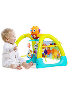 Play Gym Activity-Mat Baby-Toy Carpet Crawling Educational 5-In-1 2105 Sleeping-Bear