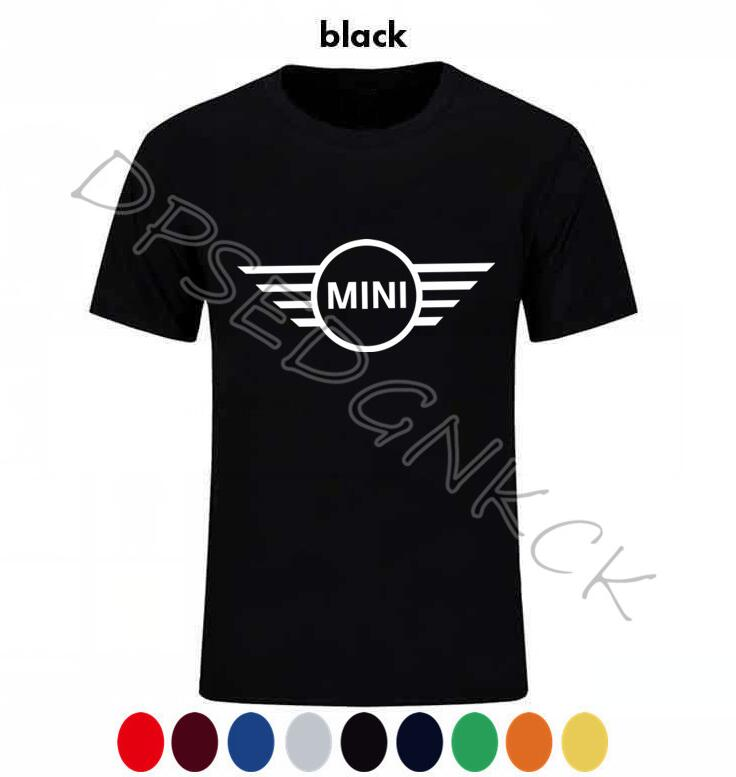 2020 MINI COOPER S T-shirt Print High Quality Car Tshirt Men T Shirt Mini Car Logo Style Clothing Brand Auto Short Sleeve A4