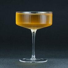 Скандинавские полосатые Коктейльные бокалы для шампанского бокалы для вина 300 мл
