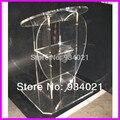 Прозрачный акриловый Подиум с передней частью в форме сердца  оргстекло
