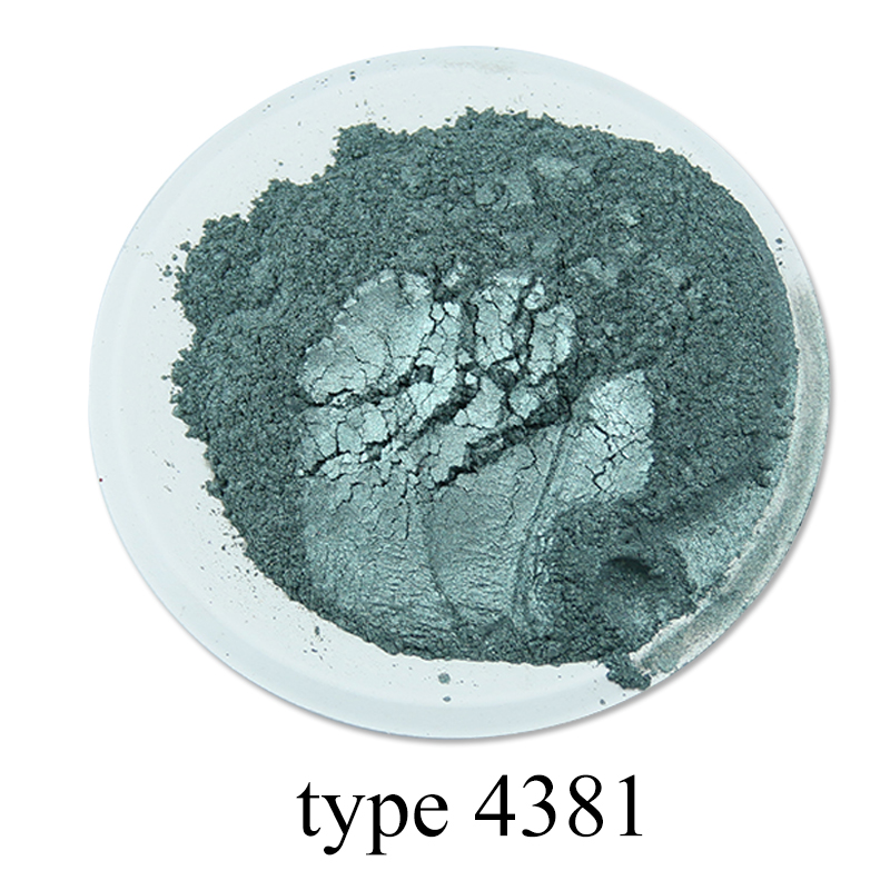 Type 4381 Pigment Pearl Powder Healthy Natural Mineral Mica Powder DIY Dye Colorant For Soap Cars Art Crafts 50g Acrylic Paint