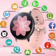 LIGE2020 جديد ساعة ذكية السيدات الرجال اللمس الكامل اللياقة البدنية تعقب ضغط الدم النوم ساعة ذكية السيدات smartwatch ل شاومي