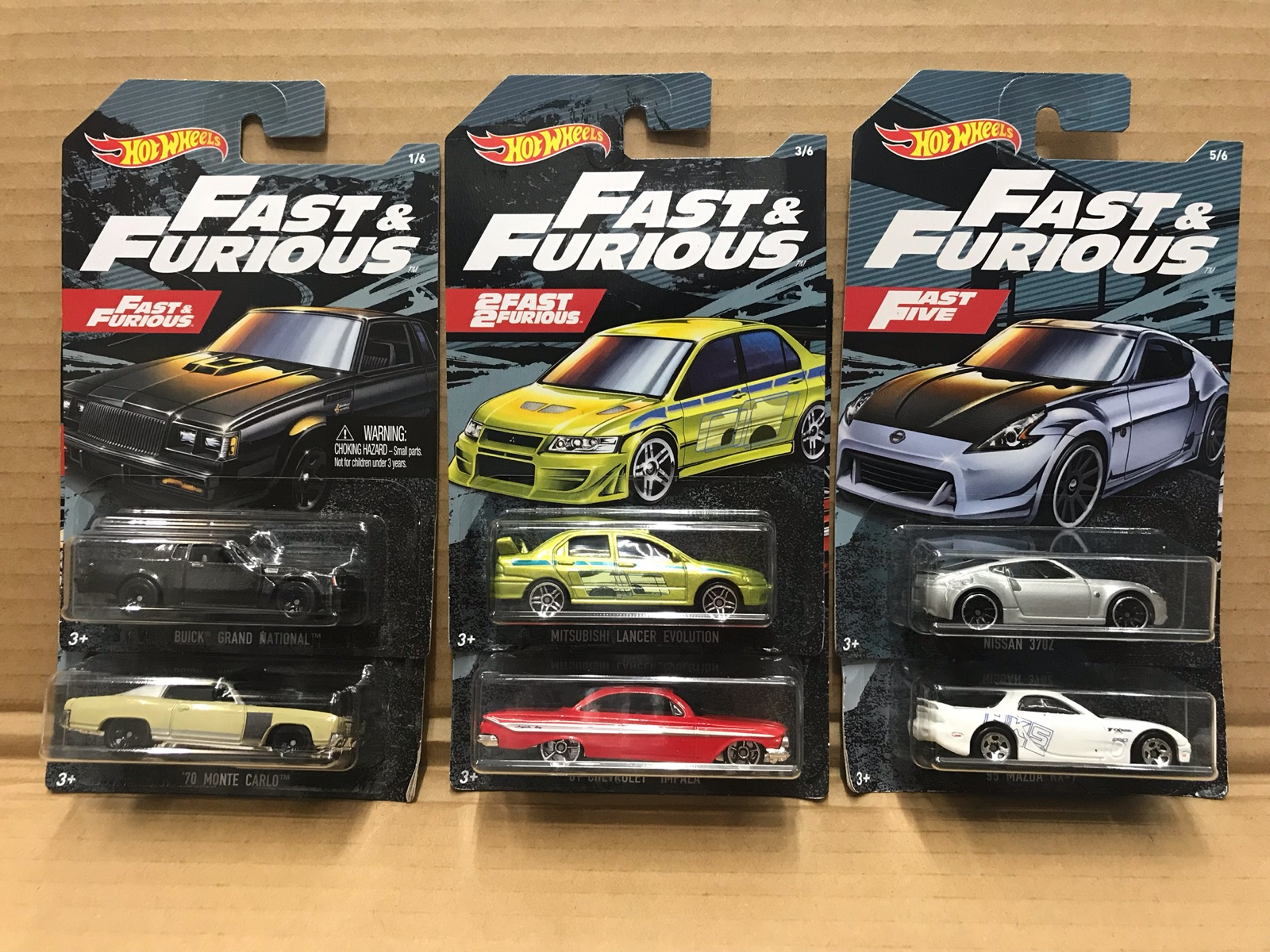 Hotwheels CARS 1/64 Fast Furious Mitsubishi Rx7 370z Collector Edition Metal Kids Toys Christmas Gift