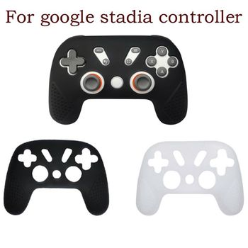 2020New Game Controller Protective Cover Sleeve Case Soft Silicone Skin for -Google Stadia Premiere Edition Gamepad High Quality - discount item  17% OFF Games & Accessories