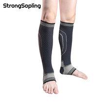 2Pcs/Pair Sports Leg Pad Safety Running Cycling Compression Sleeves Calf Leg Shin Splints Breathable Leg Warmers Protection