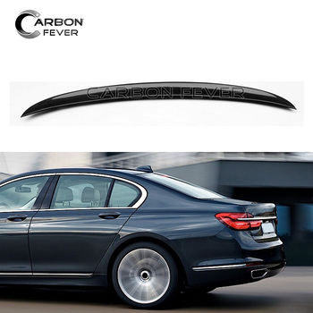G11 G12 Rear Trunk Spoiler Carbon Fiber Tail Lip For BMW 7 Series 2016 + Sedan 730i  740i 740Li 750i