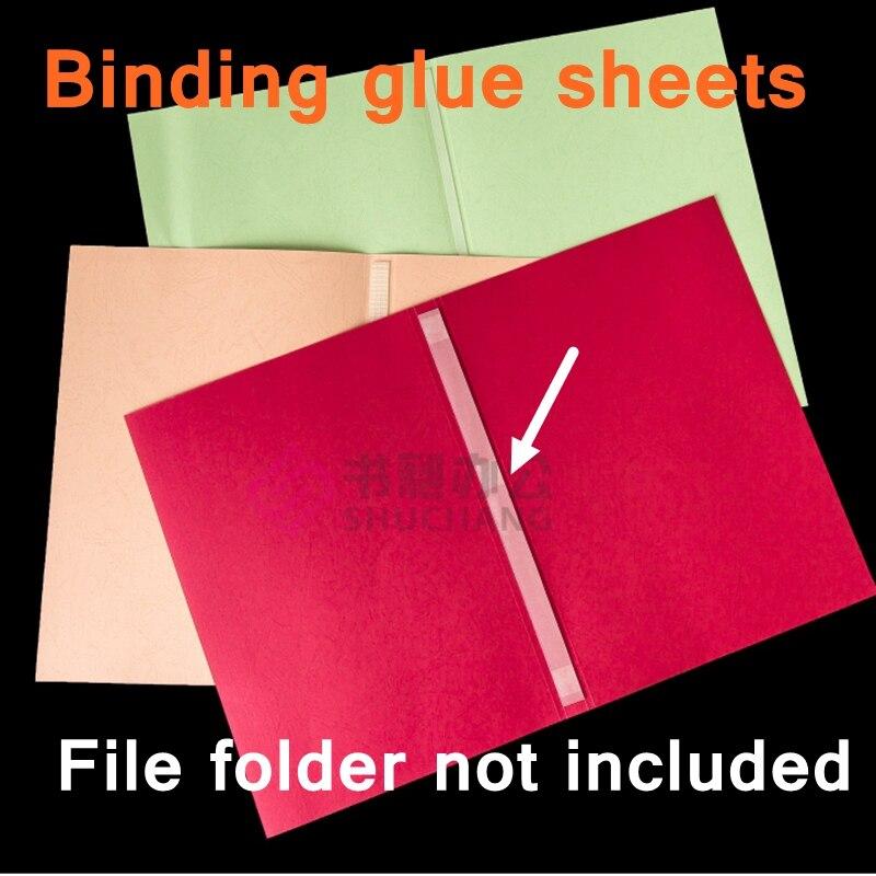 10PCS/LOT Thermal Glue Sheet Binding Supppliers Thermal Melt Adhesive Strip 2-48mm Binding Glue Strips