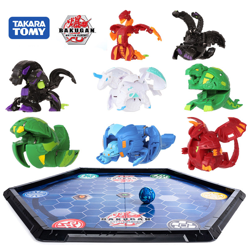 TAKARA TOMY Battle Planet Deformation Gyro Ball Dragonid Bakugan Monster Brawlers Starter Pack Battle Spining Top Toys For Kids