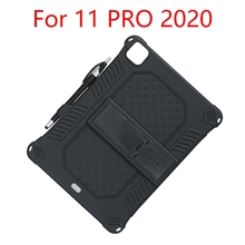 Case Protective-Case Tablet for iPad Upgraded Silicone Anti-Fall with And Capacitor-Pen