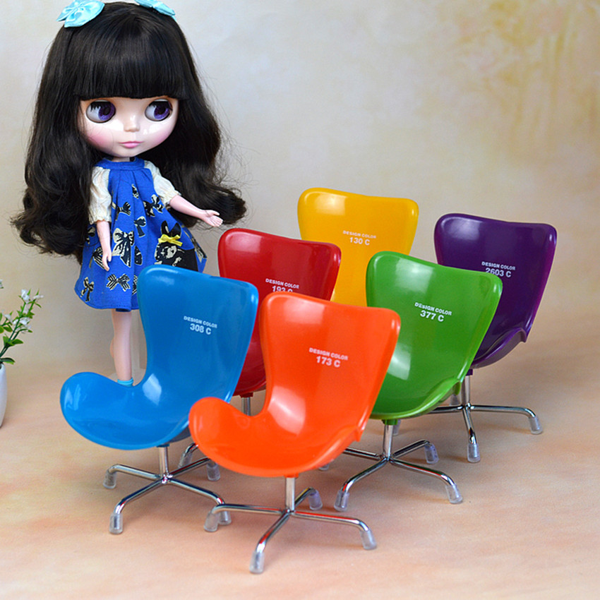 Blyth Dolls Accessories Toys Chair Furniture For 1/6 Doll Chaise Longue Baby Blyth Doll House Accessories Toys For Children