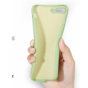 Чехол для Huawei P30 Pro P20 Lite Nova 6 SE 5 5i Y5 Y6 Y7 Y9 Prime 2019 жидкий силиконовый однотонный чехол для P Smart Plus Z Cover